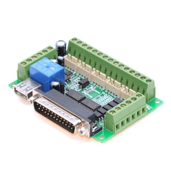 Ideal for cnc parallel port software: turbocnc, kcam, mach3 etc